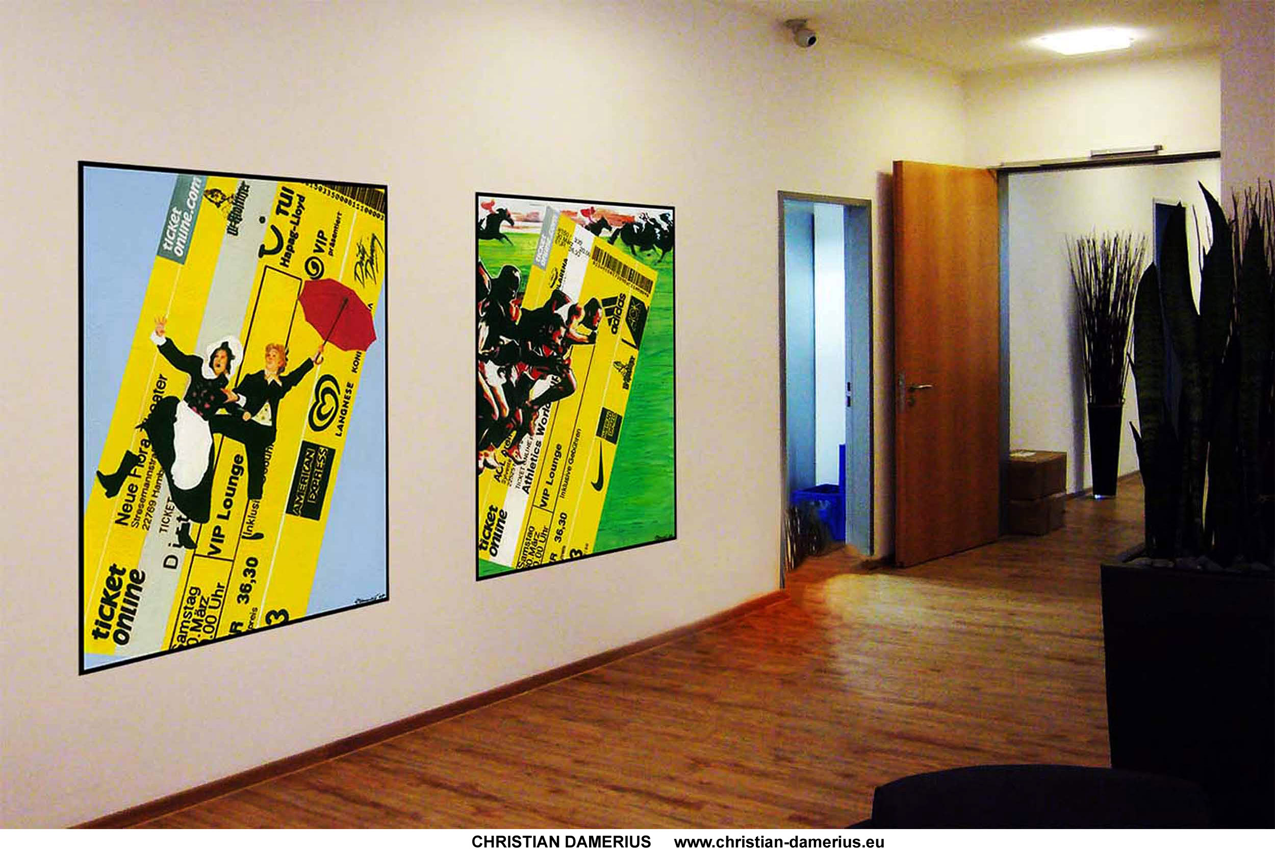 Christian damerius moderne gem lde auftragsmalerei hamburg for Acrylbilder wohnzimmer